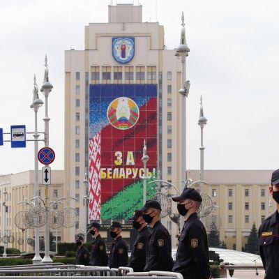 Mielenosoitus Minskissä