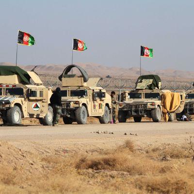 Afganistanin turvallisuusjoukkojen partio