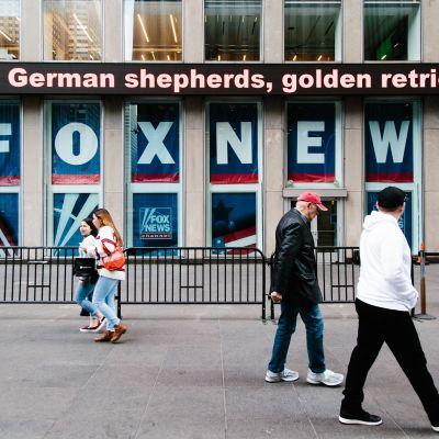 Fox Newsin toimitilat New Yorkissa.