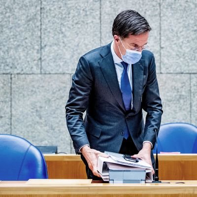 Hollannin pääministeri Mark Rutte.