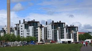 Eirastrandens nya bostäder
