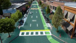 Smart vägteknologi utvecklas i USA. Så här kan smart vägteknologi se ut i framtiden.