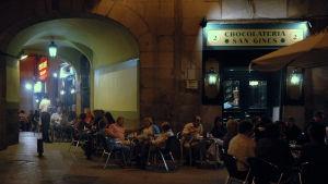 Kahvila Madridissa