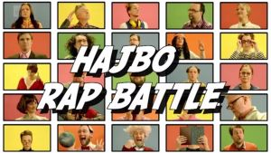 hajbo rapbattle logo