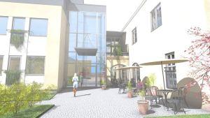 Villa Hannus i Jakobstad.