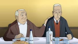 animaatio hahmot kaksi vanhaa miestä