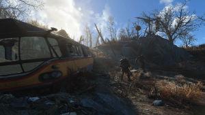 Kontroller Fallout-spelet