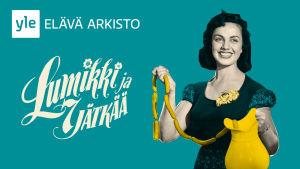 Lumikki ja 7 jätkää -elokuvan juliste (2015).