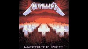 Omslaget till Metallica-skivan Master Of Puppets.