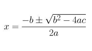 toisen asteen yhtälö