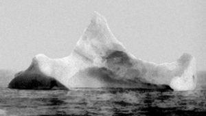 Isberget som sänkte Titanic.