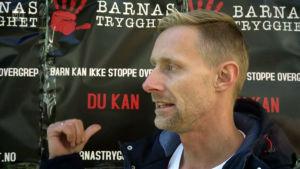 """Stefan Dahlgren på organiationen """"Barnas trygghet"""" i Norge."""