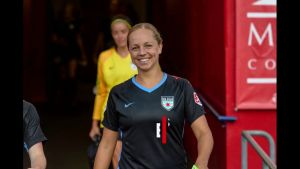 Erin Yenney i Chicago Red Stars tröja,