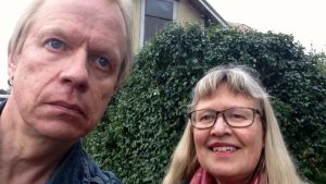 Häcken som Peter klippte. Ann-Sophie Sandström äger den.