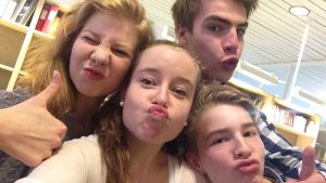 Ungdomar om selfies