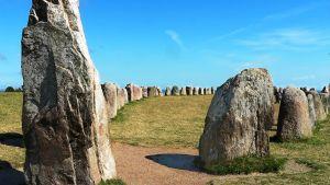 Ale stenar -kivimuodostelma Ruotsissa