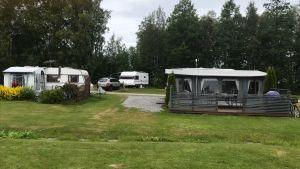 Campingområdet vid Assarlid i Larsmo