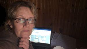 Linda Gerkman är direktör för studieservice på Svenska handelshögskolan, Hanken, i Helsingfors.