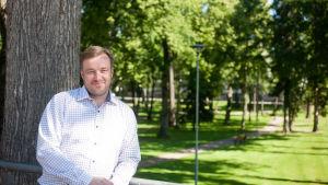 Markus Lindroos i Lovisa.