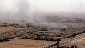 Regeringstrupper och IS kämpar om kontrollen över världsarvsstaden Palmyra i Syrien.