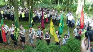 Jamboree ordnades år 2008 i Carr edge i Storbritannien.