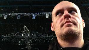 Lasse Grönroos och Motörheads bombplan 6.12. 2015.