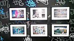 Fotografier från tiderna då graffiti kom till Finland