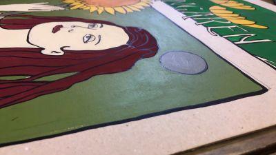 Målning på kartong