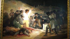 Goyan maalaus Toukokuun kolmas 1808