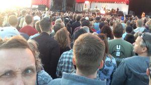 Publik inför Foo Fighters