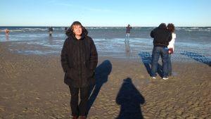 Pirkko och hennes man älskar havet.