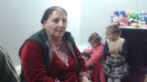 Katrina Esshak, kristen internflykting i Bagdad, Irak. December 2015