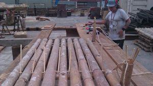 Rakennustekniikkaa bambukansissa