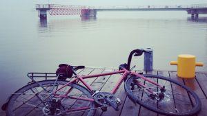 Emilia Lajunen bike tour