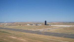 Flygplatsen Ciudad Real i Spanien.