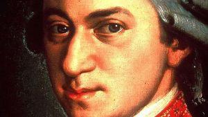 Porträtt av Wolfgang Amadeus Mozart