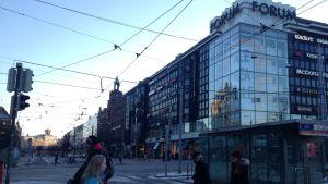 Varuhuset Forum i centrum av Helsingfors