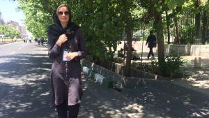 Jessica Stolzmann i Iran i maj 2015