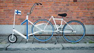 Suomi 100 polkupyörä