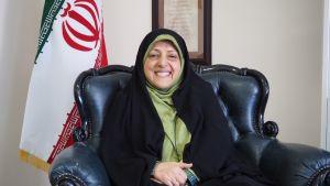Irans vicepresident Masoumeh Ebtekar.