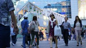 Människor i Tokyo
