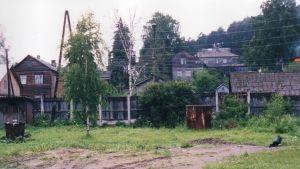 Campingplats i Paavo Jerkkus gamla hemkommun Jaakkima.