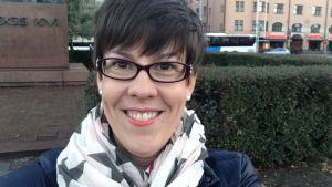 Annette Jansson, planeringsansvarig lärare på Helsingfors arbis.