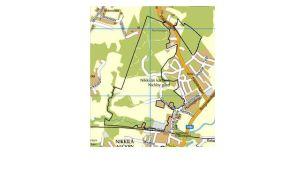 Plan över Nickby gård III