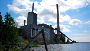 Kraftverket på Vasklot i Vasa.