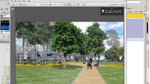 parkplan för solviksparken i nordsjö
