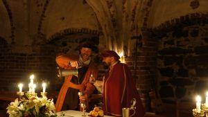 Hertigens middag på Åbo slott
