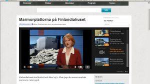 Screenshot från Arenan.yle.fi