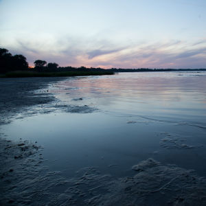Auringonlasku Itämerellä