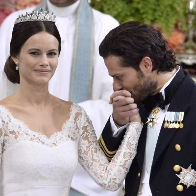 Prinsessan Sofia och prins Carl Philip,